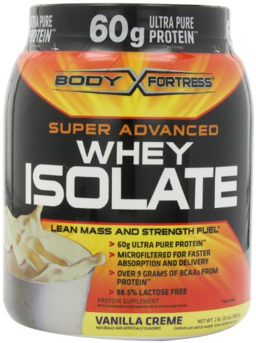 Forteresse corps Super Advanced Whey Isolate, Vanilla Creme, deux livres
