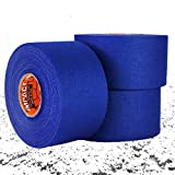 IMPACT Athletic Tapes – Royal Blue Athletic Tape 1.5'' x 15 yards (3 PACK) 50/50 Blend Polyester & Cotton for Durability - 100% All Natural Rubber Adhesive – Hypoallergenic - Trainers Tape (Blue)