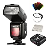 Godox Thinklite TTL HSS TT685S Camera Flash High Speed 1/8000s GN60 for Sony DSLR Cameras a77II a7RII a7R a58 a99 ILCE6000L, with X1T-S TTL Transmitter (TT685S+X1T-S)