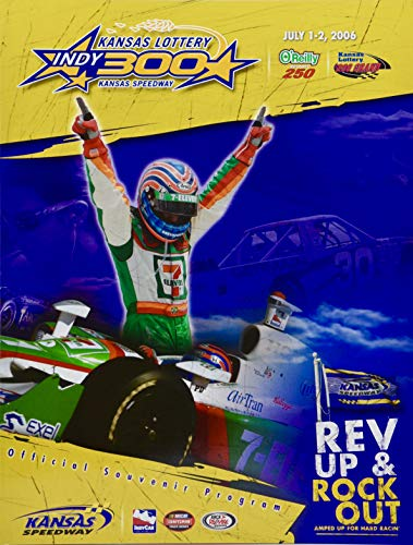 2006 - IndyCar Series/Kansas Speedway - Kansas Lottery for sale  Delivered anywhere in USA