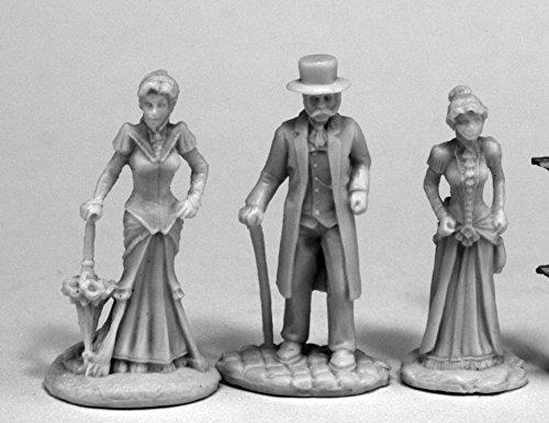 Reaper Miniatures 80068 Victorians (3), Chronoscope Bones Miniature ()