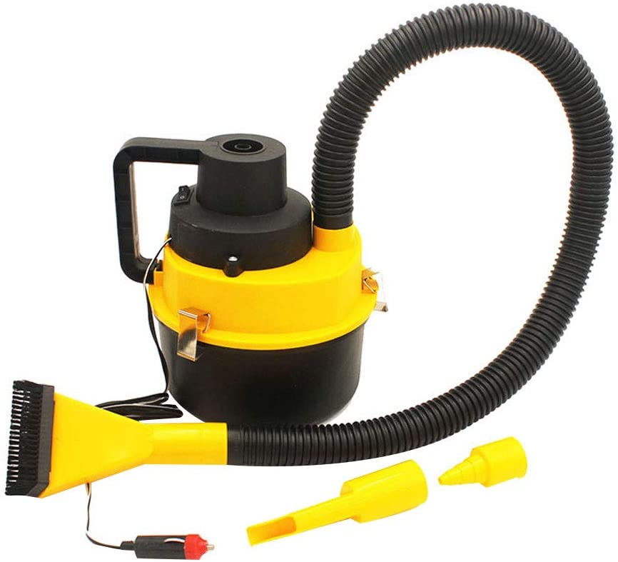 Shentesel Car Vacuum Cleaner 12V Auto Powerful Hand-held Wet//Dry Dual-Use Cleaning Tool