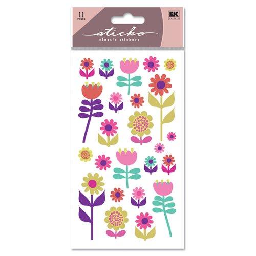 Sticko Stickers Pkg-Flower Gal - Pkg Sandy