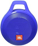 JBL Clip+ Splashproof Portable Bluetooth Speaker (Blue)