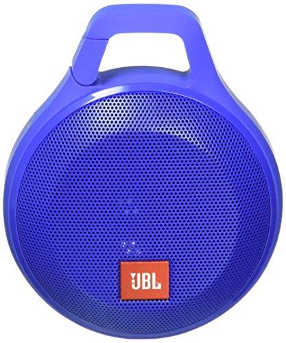 JBL Clip+ Splashproof Portable Bluetooth Speaker (Blue)