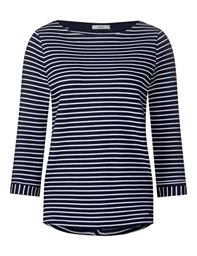 20128 Cecil Femme T shirt Blue Mehrfarbig deep qTwxrYT6nP