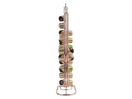 PT dispensador de cápsulas de café cápsulas NESPRESSO Cactus metal Capacidad 50 Cápsulas cobre: Amazon.es: Hogar
