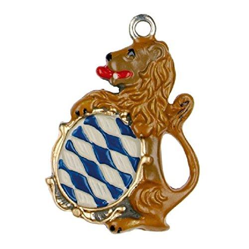 Bavarian Lion - German Pewter Christmas Tree Ornament