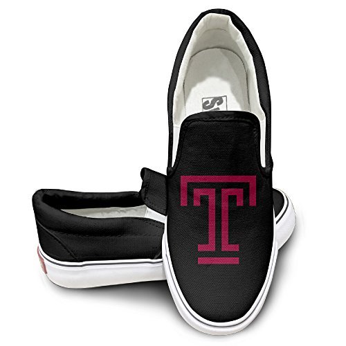 [HYRONE Temple University T Logo Design Sport Shoes Baseball Black] (Breaking Bad Jesse Costumes)