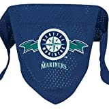 Seattle Mariners Mesh Dog Bandana (Small)