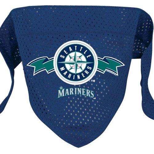 Hunter MFG Seattle Mariners Mesh Dog Bandana, Small