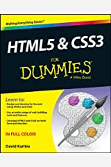 HTML5 and CSS3 For Dummies Kindle Edition