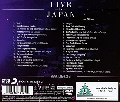 il divo live in japan dvd torrent