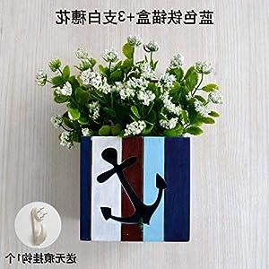 fenghgol4 Artificial Flowers Decorate The Desktop Backdrop Wall Hanging Ornaments Unity Plant 101
