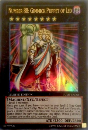 Yugioh Number 88: Gimmick Puppet of Leo CT10-EN013 Super Rare Card (Yugioh Gimmick Puppet Of Leo)