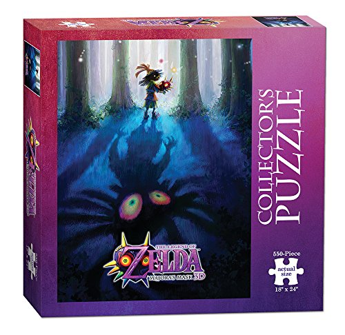 (USAOPOLY The Legend of Zelda Majora's Mask Collector's Puzzle (550 Piece))