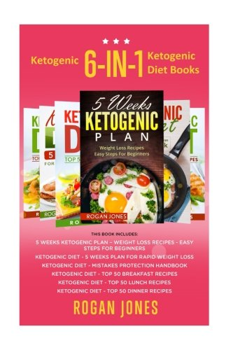 Ketogenic: 6-in-1 Box Set Ketogenic Diet Books (Ketogenic, Ketogenic Plan, Ketogenic Diet, Weight Loss, Low Fat)