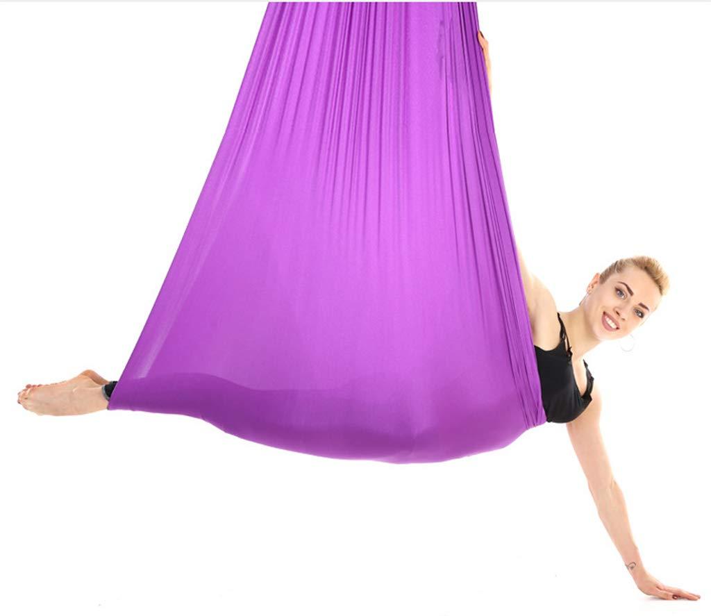 Aerial Yoga Hängemattenschwenk, 4 Meter x 2,8 Meter geeignet für Hallenhöhen von 2,2 Metern-2,5 Meter hoch.