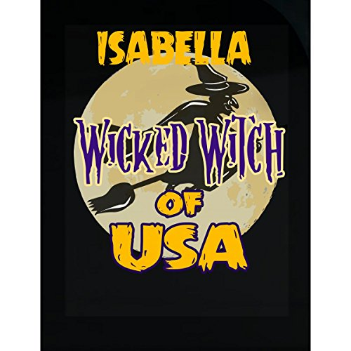 Prints Express Halloween Costume Isabella Wicked Witch of USA Great Personalized Gift - Sticker -