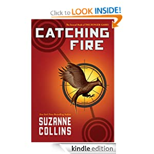 """<strong>Kids Corner At Kindle Nation Daily – Student Reviewer Merritt D. Reviews <em>CATCHING FIRE (THE SECOND BOOK OF THE HUNGER GAMES) </em> by Suzanne Collins: """"She has written a sequel to the amazing Hunger Games, which not only does it justice, but is just as thrilling and addictive as the first!""""</strong>"""
