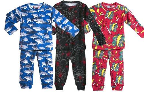 City Threads Baby Girls' Cotton Long Sleeve Pajama Set (Infant Sizes)