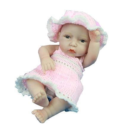 ZZYB Completo Silicona Renacido Muñecas de bebé Simulación ...