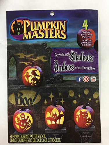 Pumpkin Masters Sensational Shadows Shadow Projecting Patterns