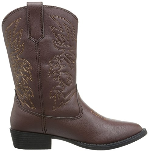 Deer Stags Ranch Kids Cowboy Boot (Toddler/Little Kid/Big Kid), Dark Brown, 12 M US Little Kid by Deer Stags (Image #7)
