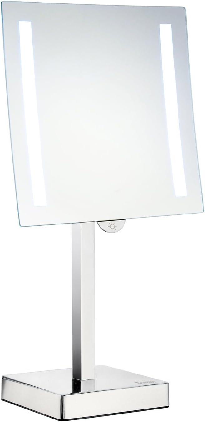 Smedbo Outline - Juego de 5 pilas LED para afeitadora y espejo de maquillaje (latón, cobre y aleación de zinc, cromo pulido): Amazon.es: Bricolaje y herramientas