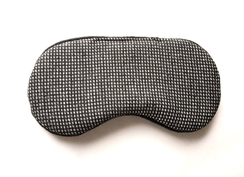 Handmade Mens Wool Mens Sleep Mask Blindfold Mask Travel Eye Mask.