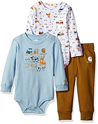 Amazon Carhartt Baby Boys 3 Piece Set Clothing