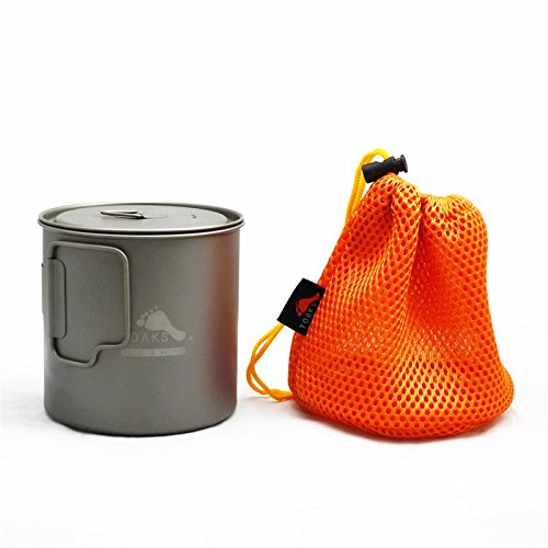 TOAKS Ultralight Titanium 650ml Pot by TOAKS