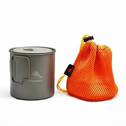 TOAKS Ultralight Titanium 650ml Pot