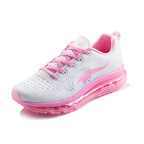 OneMix Chaussures Chaussures Running Femmes Cushion Rose Respirant Hommes et Air Sneakers Casual Mesh 8rHq80P