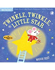 Indestructibles: Twinkle, Twinkle, Little Star: Chew Proof · Rip Proof · Nontoxic · 100% Washable (Book for Babies, Newborn Books, Safe to Chew)
