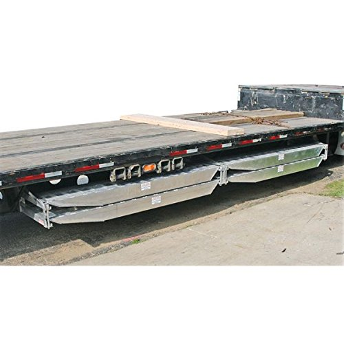 Semi-Trailer Loading Ramp Storage Brackets for Two 5'' Thick Ramps - 18 '' or 20'' Wide, Bolt-On by Discount Ramps (Image #3)