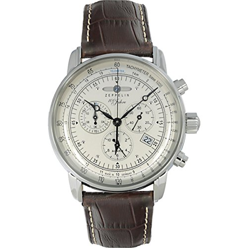 Graf Zeppelin Chronograph and Alarm Watch (Swiss Quartz Alarm)