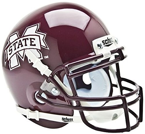 NCAA Mississippi State Bulldogs Collectible Mini (Bulldog Helmet)