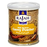 Rajah Madras Curry Powder Mild, 3.52 Ounce Unit (Packaging May Vary)
