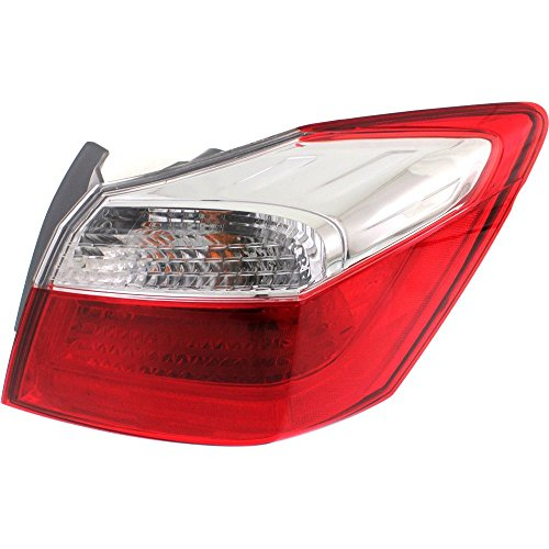 Tail Light for Honda Accord 13-15 Right Side Outer Assembly EX/LX/Sport Models Sedan
