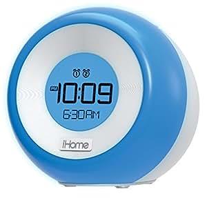 iHome iM29SC Color Changing Dual Alarm FM Clock Radio with USB Charging
