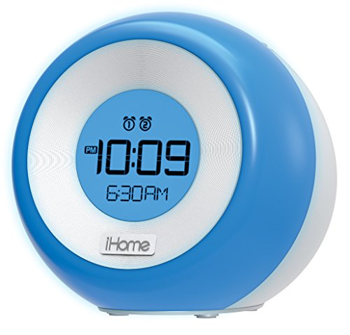 iHome iM29SC Color Changing Dual Alarm FM Clock Radio with USB Charging ()