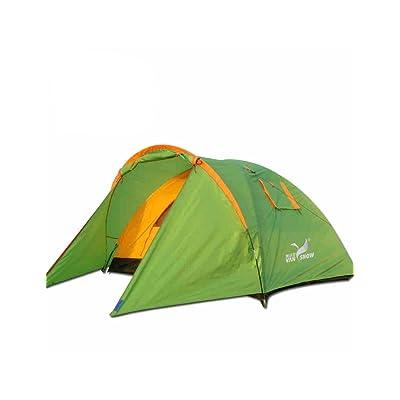 Tente de haute qualité - Double Couche double de plein air tente Barres en verre tente 200 * 150 * 115cm --Confort de voyage à l'extérieur VENTE