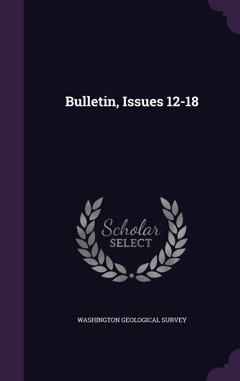 Bulletin, Issues 12-18 pdf