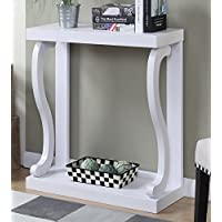 Convenience Concepts Newport Gramercy Console Table, White