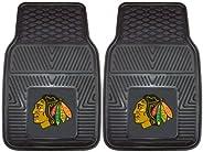 Fanmats 10371 NHL Chicago Blackhawks Vinyl Heavy Duty Car Mat