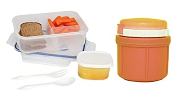 Amazoncom Range Kleen GoGo 10 Oz Insulated Food Storage Jar