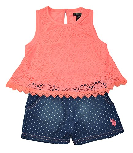 Girls Sleeveless Polo Top - 8