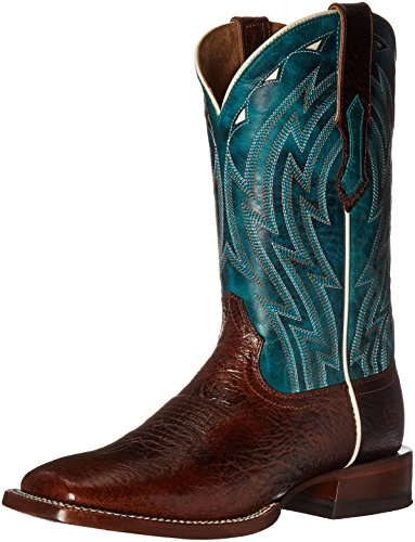 Ariat Men's Cowtown Work Boot, Chocolate Bullfrog Print, 11.5 D US (Bullfrog Shoes compare prices)