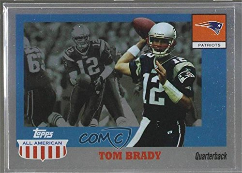 Tom Brady (Football Card) 2003 Topps All American - [Base] - Foil #41 2003 Topps Football Card